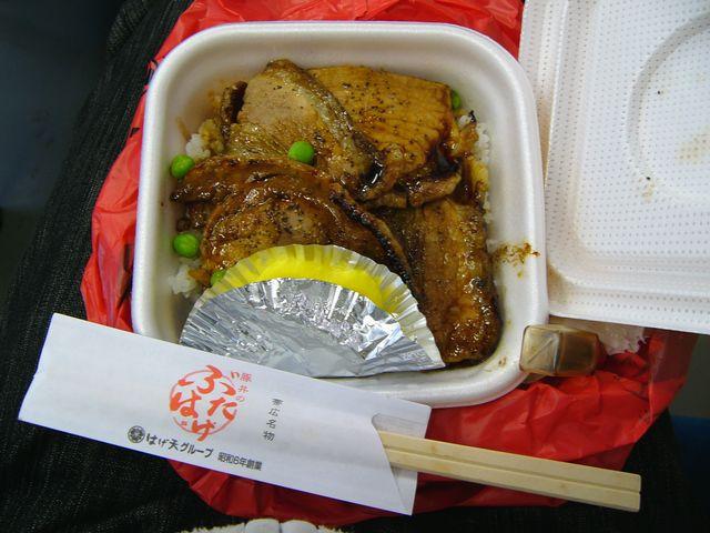 帯広名物豚丼の弁当