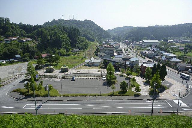 細倉マインパーク前駅跡