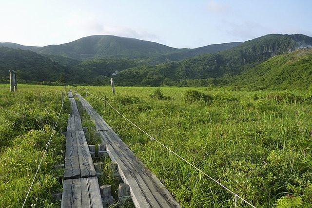 栗駒山へ登山