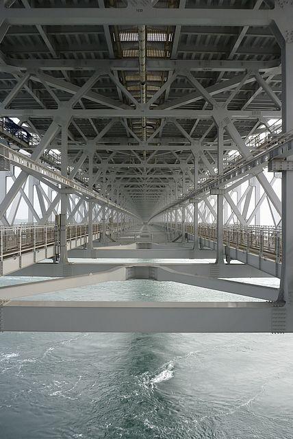 大鳴門橋橋桁空間