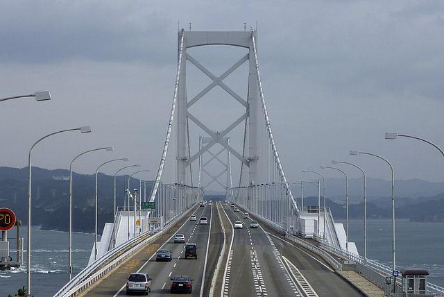 大鳴門橋上