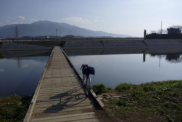 遠賀川の沈下橋