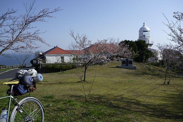 白亜の美保関灯台