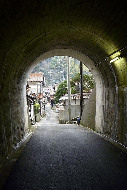 トンネルを抜けると鷺浦集落