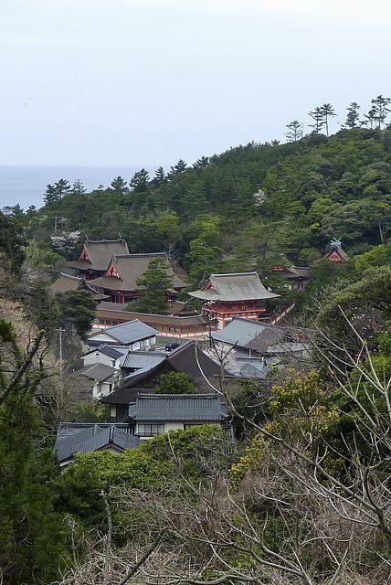 日御碕神社の佇まい