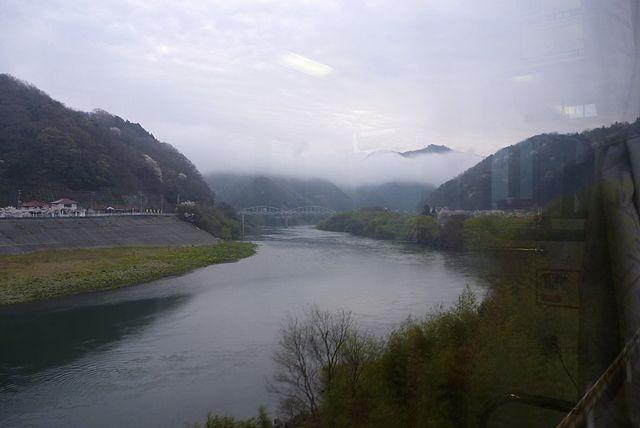 三江線の車窓