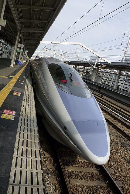 こだま運用の500系新幹線