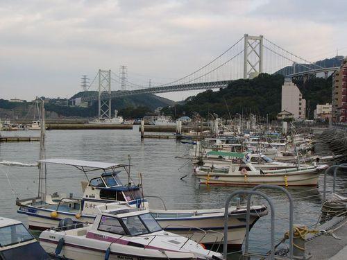 小型船のある風景