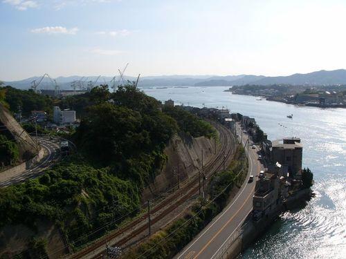 尾道大橋より