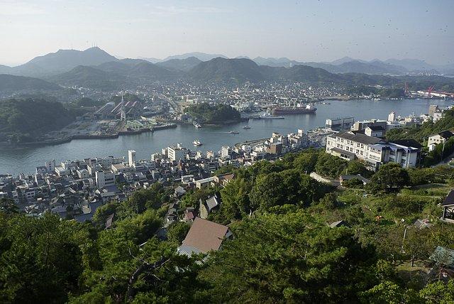千光寺山展望台から尾道水道
