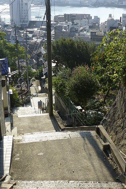 千光寺坂の階段