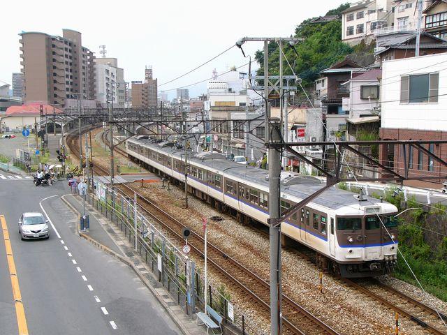 普通列車は福山方面へ