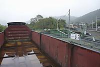 三峰口駅前の鉄道車両公園