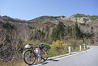 位ヶ原山荘付近より乗鞍岳を見上げる