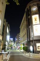 XQ1で、時計博物館あたりの夜景